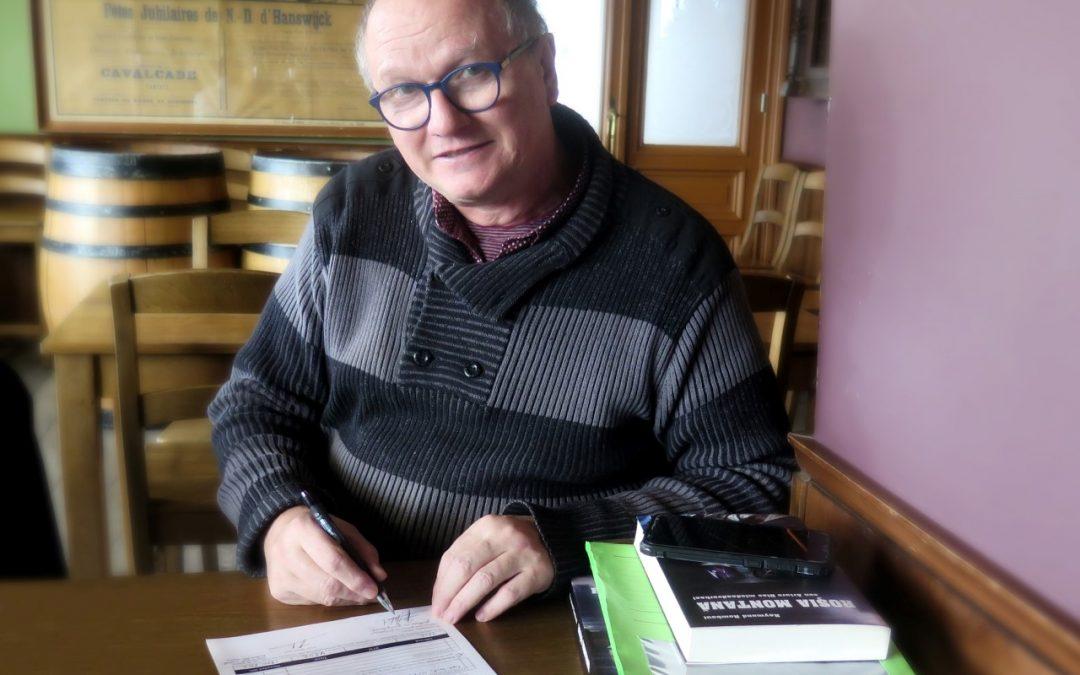 Raymond Rombout tekent bij Uitgeverij StoryLand