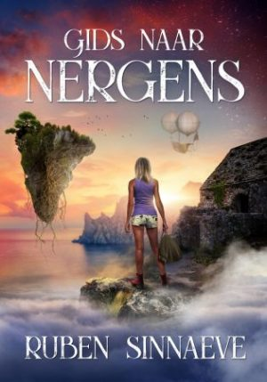 Boekomslag Gids naar Nergens van Ruben Sinnaeve op StoryLand